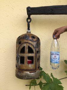 Kleine Hängeflasche