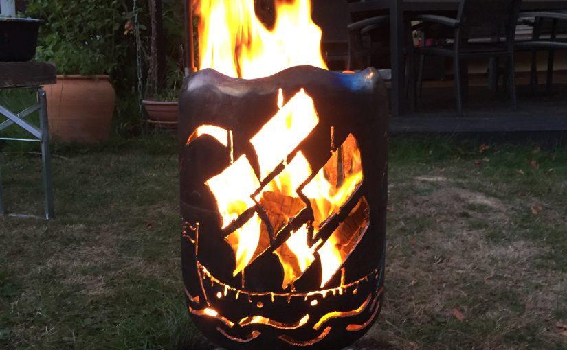 Feuertonnen Waterkant