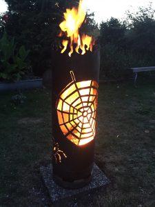 Feuertonne Spider