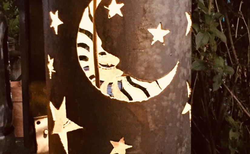 Feuertonne Tag und Nacht / Sonne – Mond – Sterne