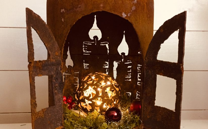 Hängeflasche Advent