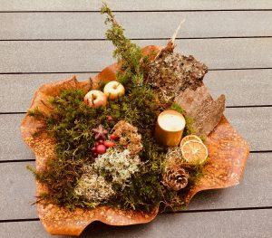 Gartenschale Rusty ca. 40 x 40 cm