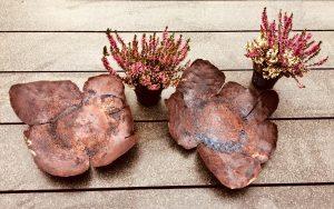 Gartenschale Rusty ca. 20 x 20 cm