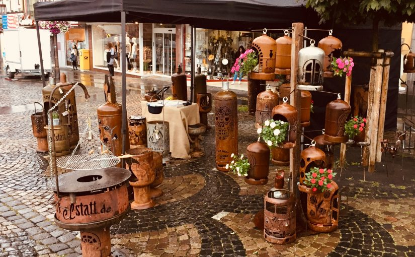 Handwerkermarkt im Rahmen des Stein- und Burgfestes in Mayen / 07.-08. September 2019