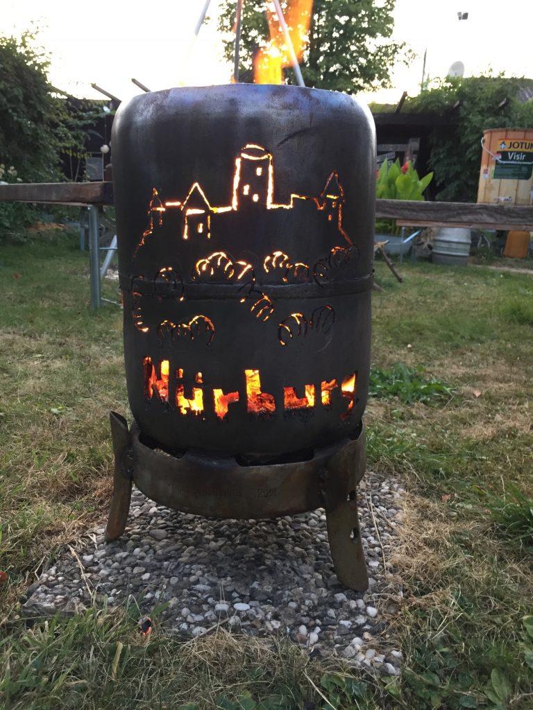 Kleine Feuerflasche Nürburg