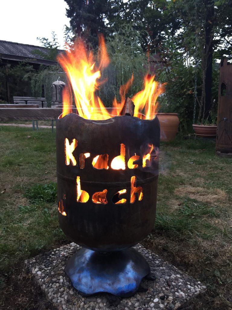 Feuertonne Kradenbach