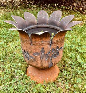 Gartenfackel mit Fuß