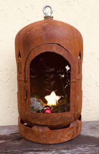 Dekoflasche Advent