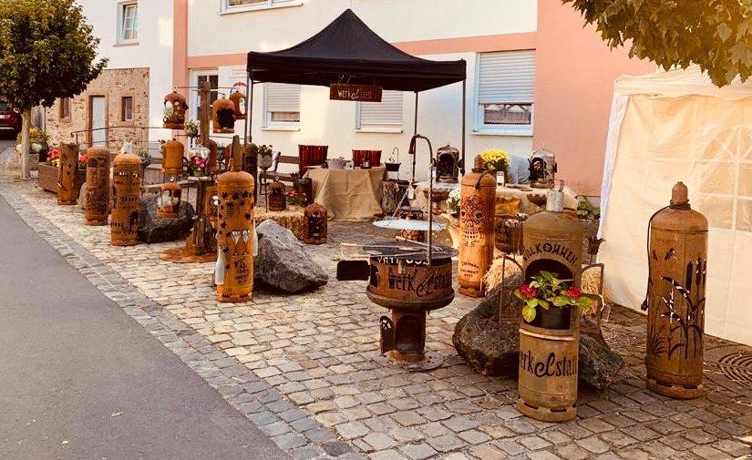 Kunst- und Handwerkermarkt in Bleialf am 15. August 2021